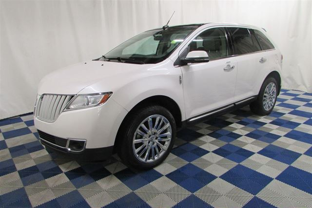 2014 LINCOLN MKX AWD/ACCIDENT FREE/NAV/SUNROOF/REAR CAM/LEATHER in Winnipeg, Manitoba