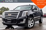 2016 Cadillac Escalade ESV Premium Collection 4x4 7Seater Navi Sunroof DVD Backup Cam Bluetooth R-Start 22Alloy in Bolton, Ontario