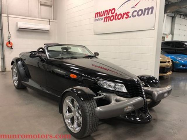 1999 PLYMOUTH PROWLER Automatic Convertible Low Kms in St George Brant, Ontario