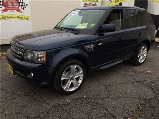 2013 LAND ROVER RANGE ROVER Sport HSE LUX, Navigation, Leather, 4x4 in Burlington, Ontario