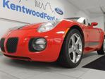2008 Pontiac Solstice GXP 5-speed manual with a convertible soft top in Edmonton, Alberta