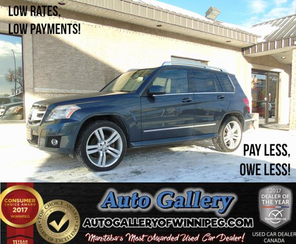 2010 MERCEDES-BENZ GLK-CLASS GLK 350 AWD *Lthr in Winnipeg, Manitoba