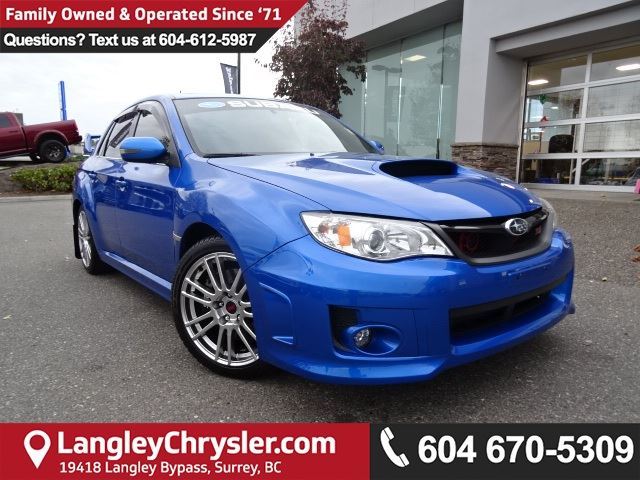 2013 SUBARU IMPREZA *LOCAL BC CAR* DEALER INSPECTED* in Surrey, British Columbia