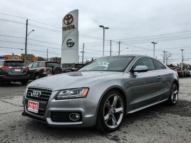 2010 AUDI A5 2.0L Premium S-LINE AWD-CERTIFIED! in Cobourg, Ontario