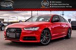 2017 Audi A6 3.0T Competition Quattro Navi Sunroof Backup Cam Bluetooth Leather 20Alloy Rims in Bolton, Ontario