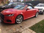 2016 Audi TT Roadster quattro, S Line, Navigation + Audi After Care+ in Mississauga, Ontario