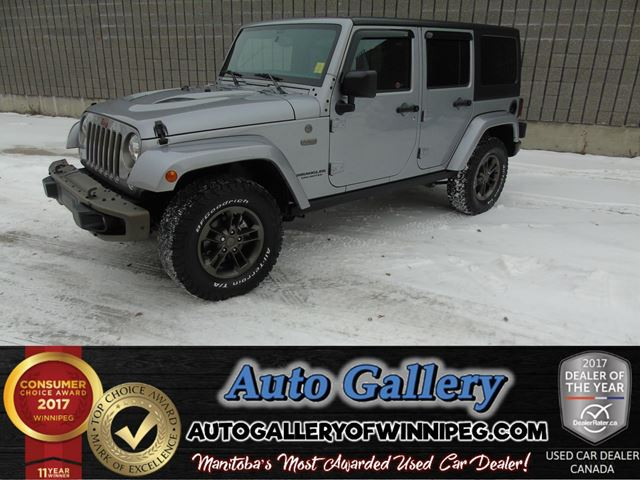2016 JEEP WRANGLER Unlimited 75th Anni 4x4 *Nav in Winnipeg, Manitoba