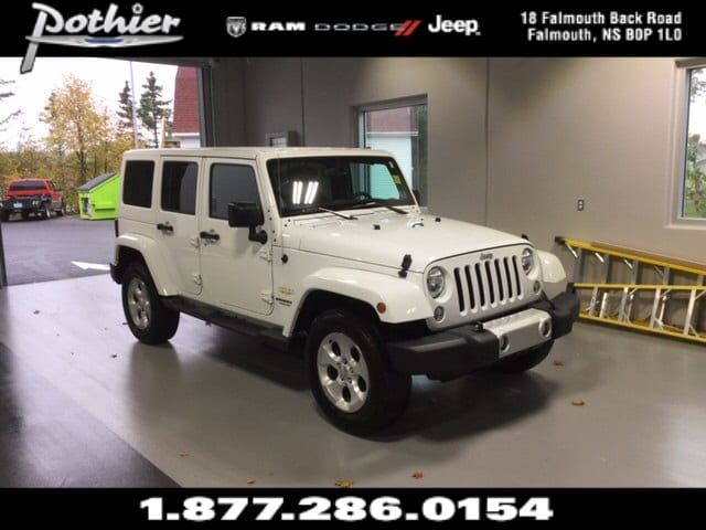 2014 Jeep Wrangler Unlimited Sahara 4x4  CLOTH  HARD TOP  KEYLESS  in Windsor, Nova Scotia