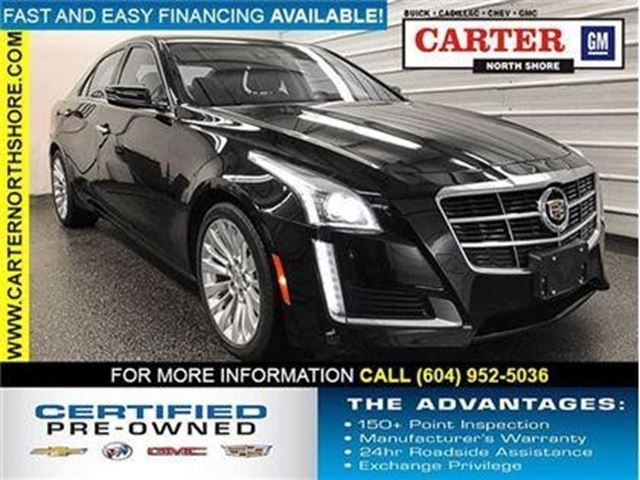 2014 CADILLAC CTS Luxury RWD in North Vancouver, British Columbia