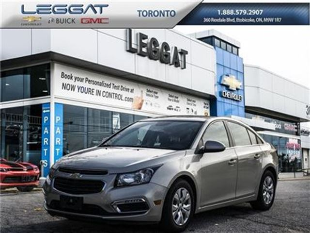 2015 CHEVROLET Cruze LT, Remote Entry, A/C and more... in Rexdale, Ontario