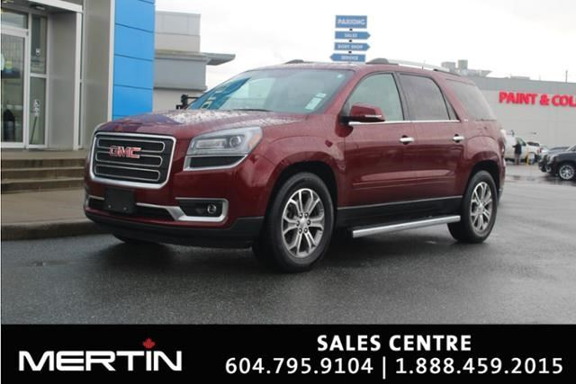 2016 GMC ACADIA SLT in Chilliwack, British Columbia