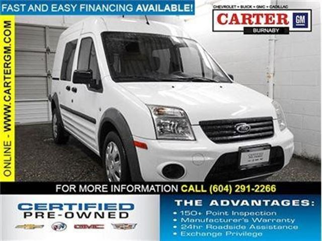 2013 FORD TRANSIT CONNECT XLT in Burnaby, British Columbia