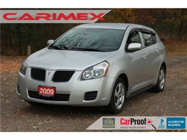 2009 PONTIAC VIBE Base ONLY 89K   ONE-OWNER   CERTIFIED in Kitchener, Ontario