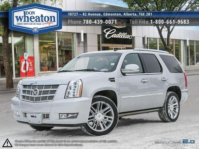 2013 CADILLAC ESCALADE PLATINUM EVERY OPTION NAV SUNROOF DVD in Edmonton, Alberta