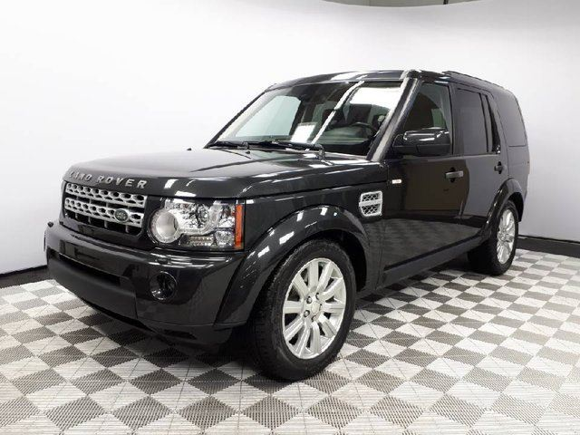2013 LAND ROVER LR4 HSE - CPO 6yr/160000kms manufacturer warranty included until December 1, 2019! CPO rates starting at 0.9%! Local One Owner Trade In   No Accidents  2 Sets of Tires Included   Winter Tires Installed   Seats 7   Navigation   Parking Sensors   Heated Wi in Edmonton, Alberta