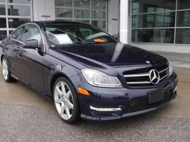 2015 MERCEDES-BENZ C-CLASS Coupe 4-Matic in Coquitlam, British Columbia