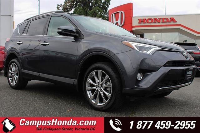 2017 TOYOTA RAV4 Limited AWD Bluetooth Navigation  in Victoria, British Columbia
