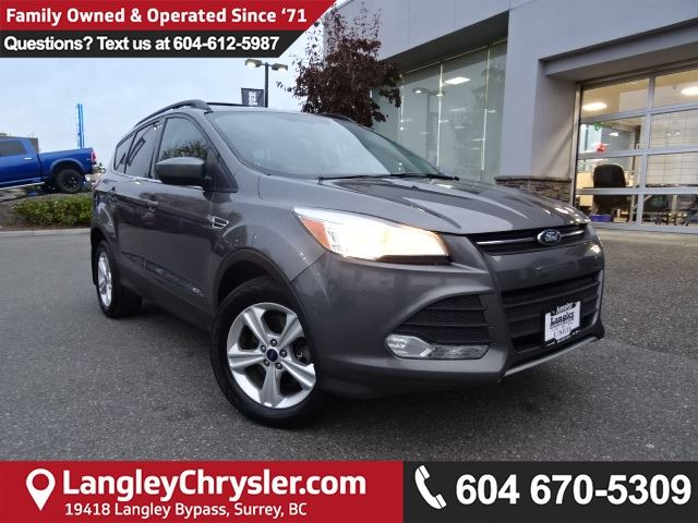 2013 FORD ESCAPE SE *ACCIDENT FREE*ONE OWNER*DEALER INSPECTED* in Surrey, British Columbia