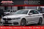 2017 BMW 5 Series 530i xDrive M Sport,Cold Wthr.,Driving Asst. Pkgs H/K Surround Audio in Thornhill, Ontario