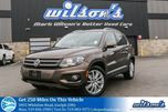 2015 Volkswagen Tiguan HIGHLINE AWD SUV! LEATHER! SUNROOF! REAR CAMERA! PUSH BUTTON START! CRUISE CONTROL! 18 ALLOYS! in Guelph, Ontario