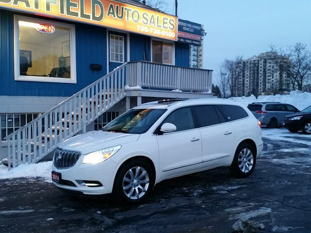 2014 BUICK ENCLAVE AWD Premium **Leather/Roof/Nav** in Barrie, Ontario