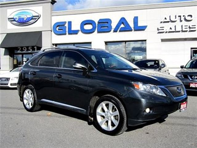 2010 LEXUS RX 350 AWD PREMIUM NAVIGATION LEATHER in Ottawa, Ontario