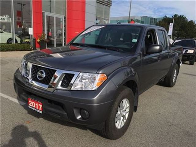 2017 nissan frontier sv 4x4 crew cab accident free burlington ontario car for sale 2923022. Black Bedroom Furniture Sets. Home Design Ideas