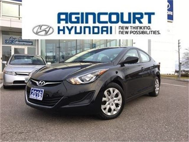 2016 HYUNDAI Elantra GL/HEATED SEATS/OFF LEASE/ONLY 25980KMS in Toronto, Ontario