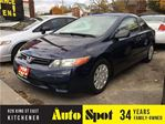 2007 Honda Civic DX-G/LOW, LOW KMS/PRICED FOR A QUICK SALE! in Kitchener, Ontario