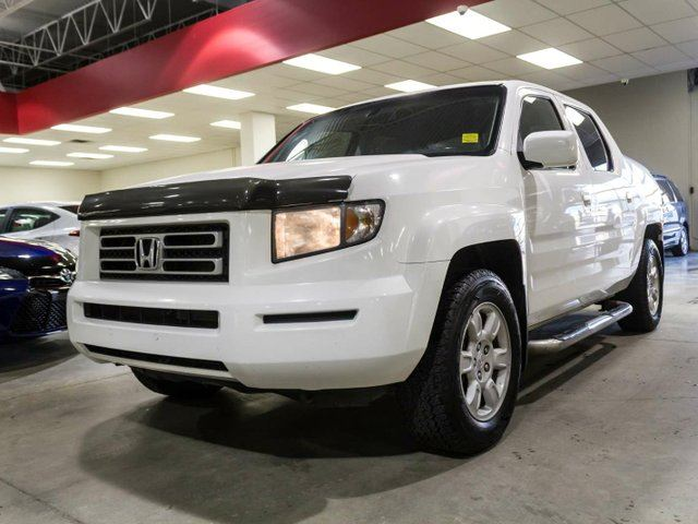 2006 HONDA Ridgeline EX-L, Remote Starter, Hard Tonneau, Side Steps, Leather, Heated Seats, Alloy Rims, 4x4 in Edmonton, Alberta