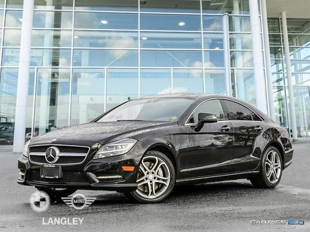 2014 MERCEDES-BENZ CLS550 4MATIC Coupe in Langley, British Columbia