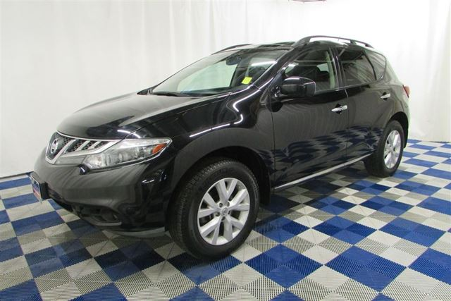 2012 NISSAN MURANO SL AWD/ACCIDENT FREE/LEATHER/REAR CAM/LOADED!! in Winnipeg, Manitoba