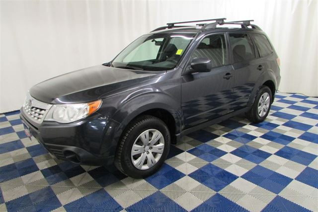 2011 SUBARU FORESTER 2.5 X Convenience Package AWD/HTD SEATS in Winnipeg, Manitoba