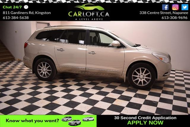 2013 BUICK ENCLAVE Leather- HEATED SEATS * BLUETOOTH * BACKUP CAM in Kingston, Ontario