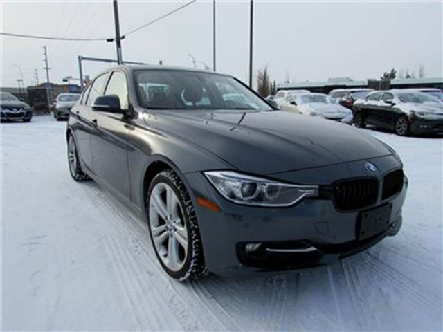 2014 BMW 3 SERIES 328 i xDrive LEATHER,NAV,SUNROOF in Edmonton, Alberta
