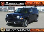 2017 Jeep Patriot HIGH ALTITUDE 4WD / Leather / Sunroof in Calgary, Alberta