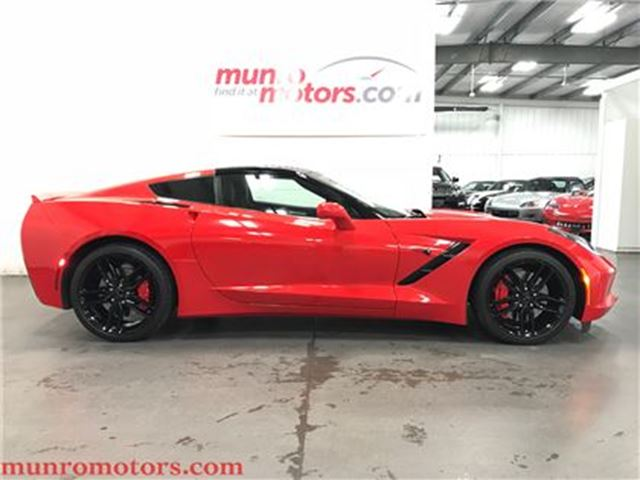 2016 Chevrolet Corvette Stingray Z51 3LT Mag Ride Comp Seats in St George Brant, Ontario
