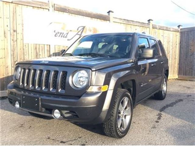 2017 JEEP PATRIOT High Altitude Edition in Ottawa, Ontario