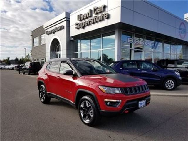 2018 JEEP Compass Trailhawk in Georgetown, Ontario