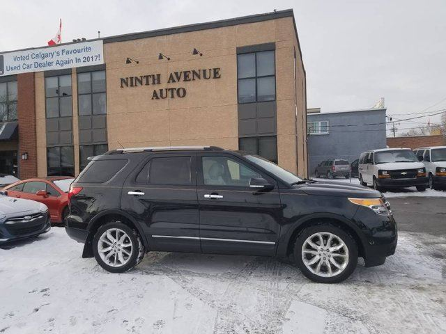 2013 FORD Explorer Limited 4dr 4x4, Leather, Navigation in Calgary, Alberta