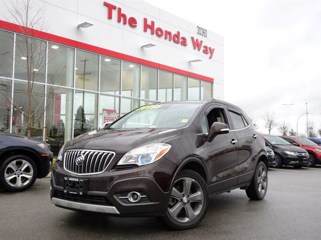 2014 BUICK ENCORE Leather AWD in Abbotsford, British Columbia