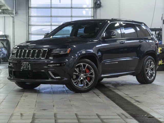 2014 JEEP GRAND CHEROKEE SRT8 w/Winter Tire Package and Luxury Group 2 in Kelowna, British Columbia