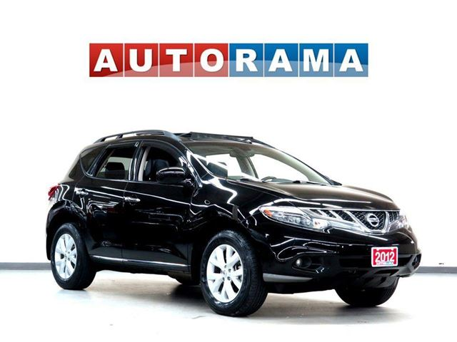 2012 NISSAN Murano SL LEATHER PANORAMIC SUNROOF 4WD BACKUP CAM in North York, Ontario
