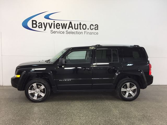 2017 JEEP PATRIOT HIGH ALTITUDE- 4x4|SUNROOF|HTD LTHR|UCONNECT! in Belleville, Ontario