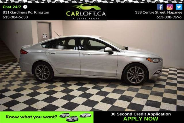 2017 FORD FUSION SE-  LEATHER * BLUETOOTH * SUNROOF in Kingston, Ontario