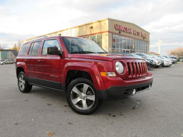 2017 JEEP PATRIOT HIGH ALTITUDE, 4X4, ROOF, LEATHER, 34K! in Stittsville, Ontario