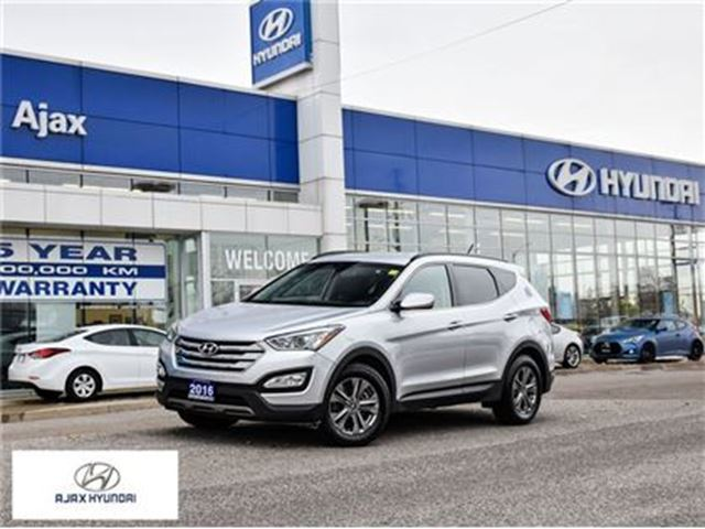 2016 HYUNDAI Santa Fe *2.4 Premium AWD Heated Seats Dual Zone Climate in Ajax, Ontario