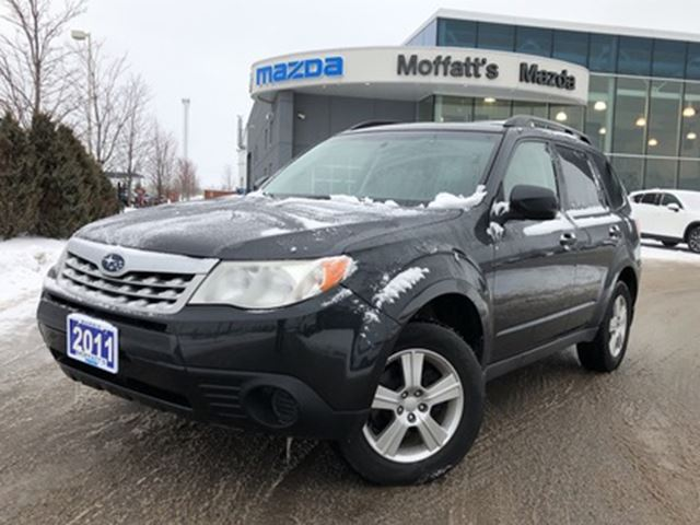 2011 SUBARU FORESTER 2.5 X Convenience Package AWD in Barrie, Ontario