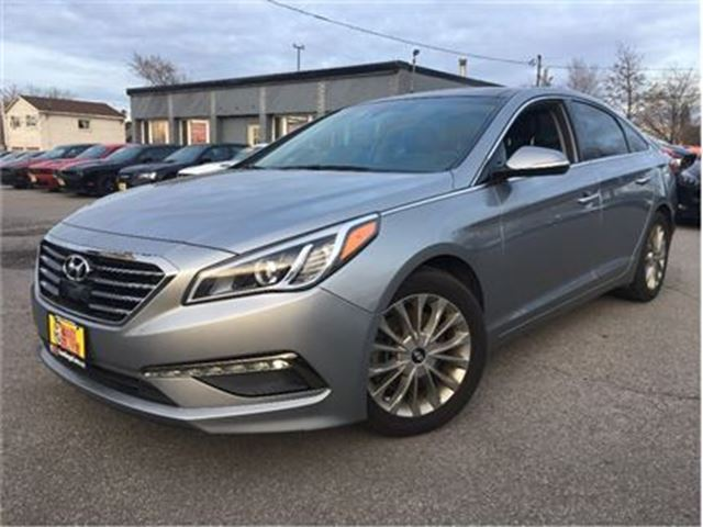 2015 HYUNDAI SONATA Limited LEATHER NAVIGATION PANORAMA ROOF in St Catharines, Ontario