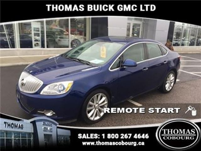 2014 BUICK VERANO Base - Bluetooth - Remote Start - $104.26 B/W in Cobourg, Ontario